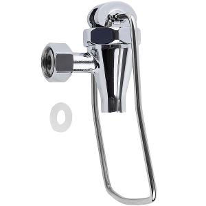 Plated Touchless Faucet for Uninsulated Beverage Dispensers