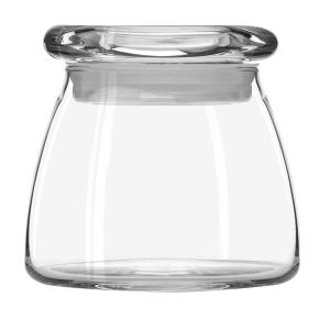 Vibe Glass Jar 362ml With Lid