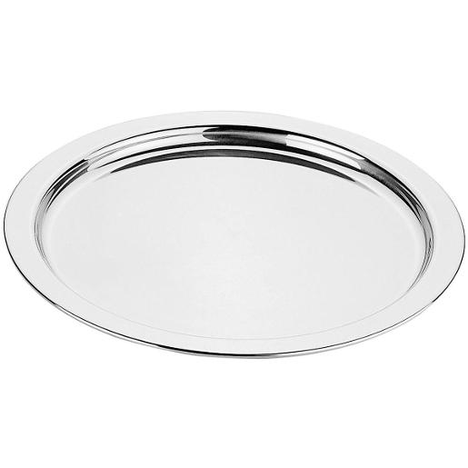 Round Tray Dia 53cm. Stainless Steel