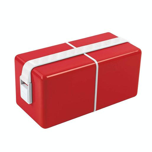 O Eat Lunch Box Red
