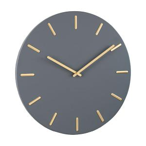 Sticker Wall Clock With 3D Adhesive Numbers