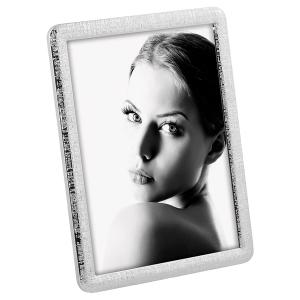 Stars Shiny Metal Photo Frame With Relief Decorations