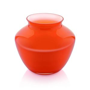 Orchid Vase H 20cm Orange