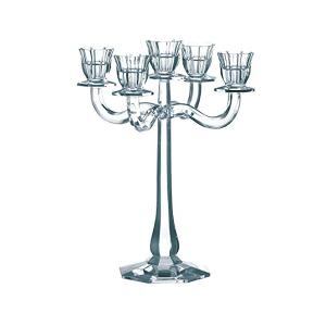 Ravello Candleholder With 5 Arm H 30cm Crystal