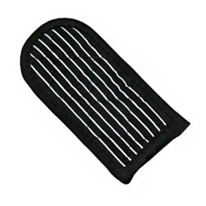 Striped Hot Handle Holders Black