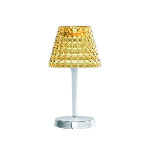 Tiffany Wireless Lighting Table Lamp Amber