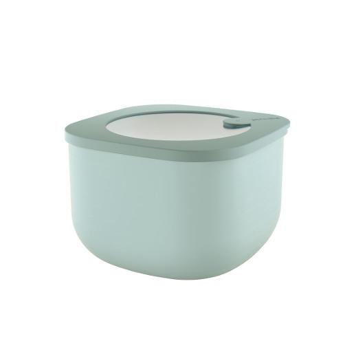 Store And More Shallow Airtight Deep Container 1.55 Liter Sage Green