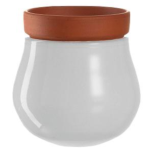 Small Plant Pot White