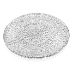 Holidays Charger Plate 34cm Transparent