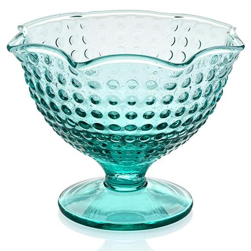 Icecream Bowl Turquoise Color Diameter 14cm