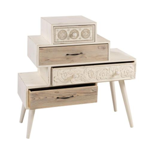 4 Drawers Wooden Cabinet