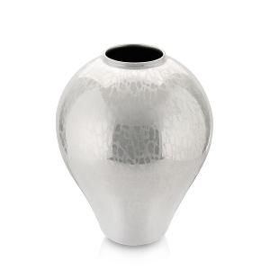 Glamour Vase H 25cm Pearly white
