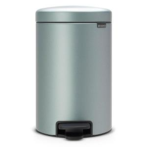 New Icon Pedal Bin 12litre Metallic Mint