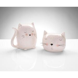 Kitten Ceramic Money Banks