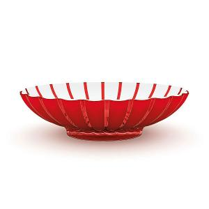 Grace Oval Fruit Bowl 37.5x30.5cm Red