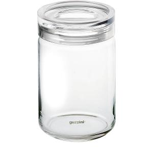 Kitchen Storage Jar Dia 12x H32cm Capacity 1900cc Transparent