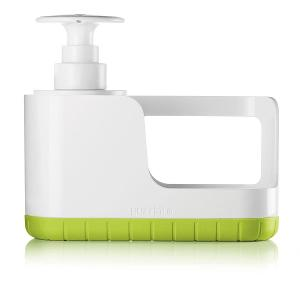 Sink Tidy With Soap Dispenser Green