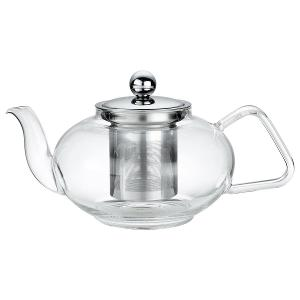 Tea Pot Glass with Filter and Lid 800ml