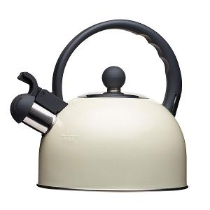 Traditional  Whistling Kettle 1.4 Litre Cream