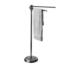 Darvin Standing Towel Rack for Bathroom H 85cm Chrome
