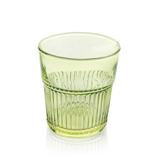 Industrial Chic Water Tumbler 280ml Set of 6 pieces Green