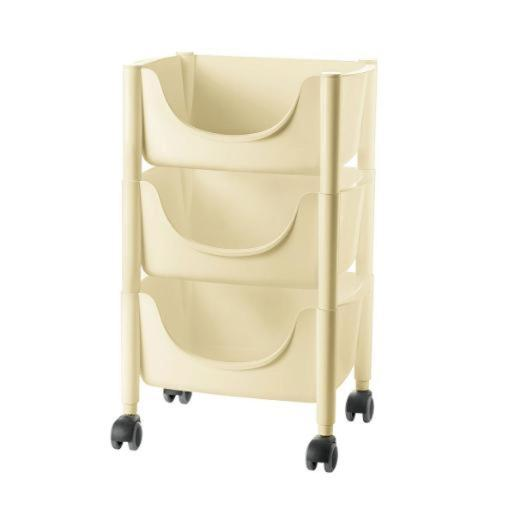Hold&Roll Vegetables Trolley Beige