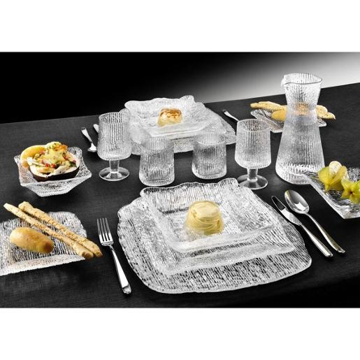 All In One Buffet Set 6 Ind Bowls & 2 Section Relis