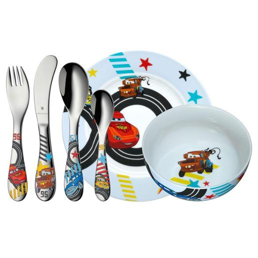 Disney Cars Children Cutlery Set Of 6 Pieces