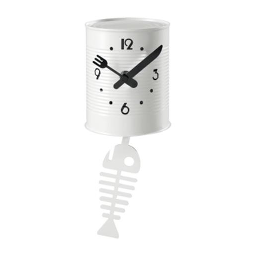 Wall Clock With Pendulum And Drawing Dia 10.7cm