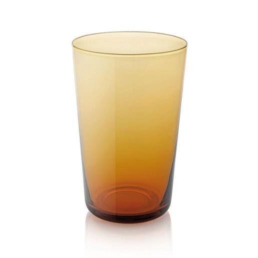 Easy Tall Tumbler 450ml Set of 6 pieces Amber