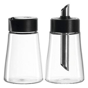 Senso Glass Milk & Sugar Bowl