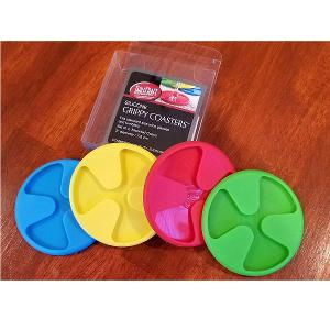 Grippy Coasters Silicone Set of 4 Pieces