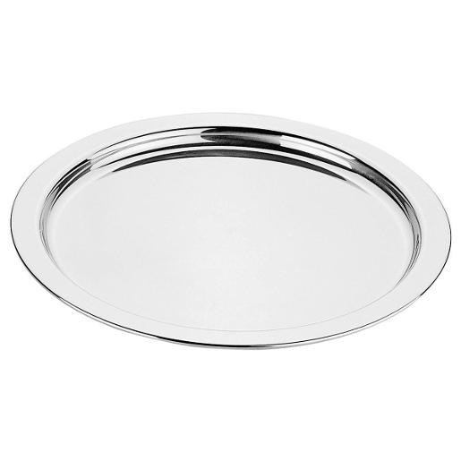 Round Tray Dia 42cm. Stainless Steel