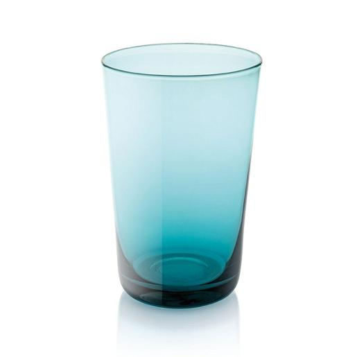 Easy Tall Tumbler 450ml Set of 6 pieces Turquoise
