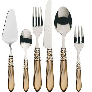 Melodia Cutlery Set of 31 Pieces Onyx