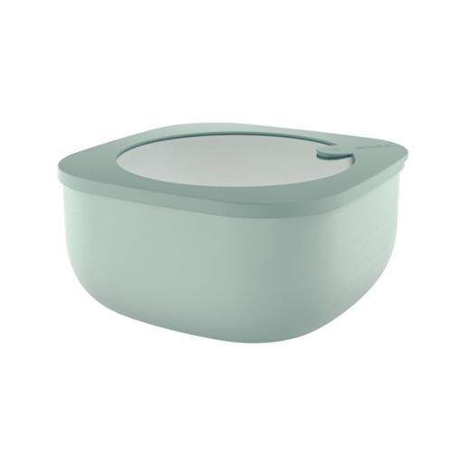 Store And More Shallow Airtight Deep Container 1.90 Liter Sage Green
