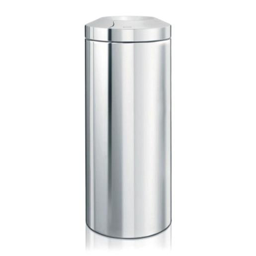 Waste Bin Non Flameable Guard 30 Liter Brilliant Steel