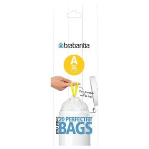 Trash Plastic Bags 0.8 Gallon 3 liter White