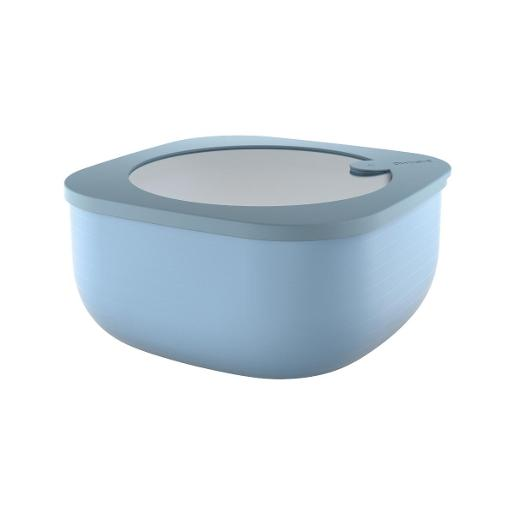 Store And More Shallow Airtight Deep Container 1.90 Liter Blue