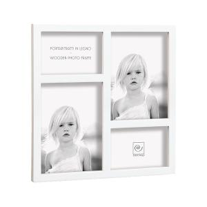 Multi Picture Frame White