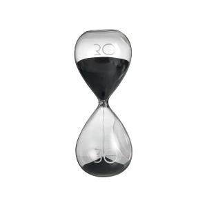 Hourglass 30 Minutes Black