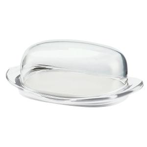 Feeling Butter Dish with Cover Transparent