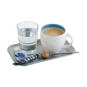 Tray Dia 21.5x13cm H 1.5cm Stainless Steel