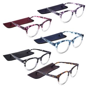 Reading Glasses with Fabric Case Set of 1 Pieces