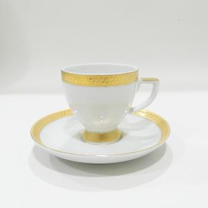 Turkish Coffee Cup & Saucer Set of 6 Pieces