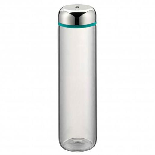 Water Bottle 0.75 Liter Glass Turquoise