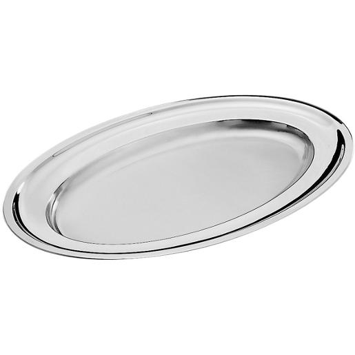 Oval Serving Platter 60x39cm. Stainless Steel