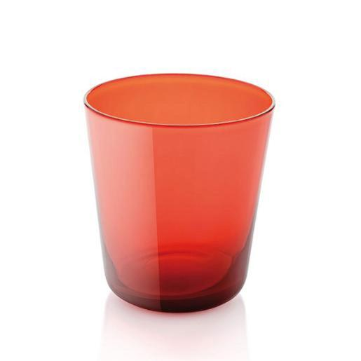 Easy Water Tumbler 340ml Set of 6 Pieces Orange