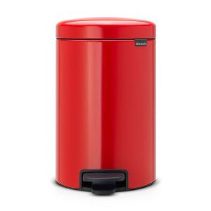 N Icon Pedal Bin 12 Liter Red