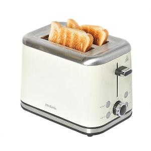 Two Slice Toaster Stainless Steel 1050W Almond